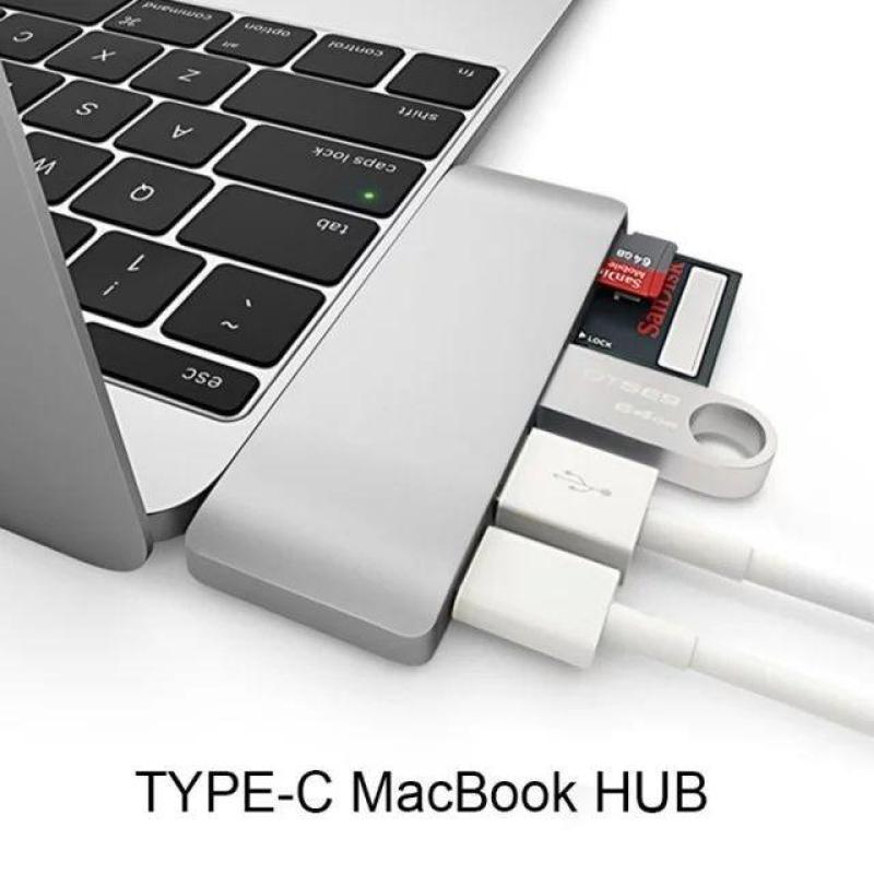 5 in 1 usb c usb 3 sd card reader hub adapter adaptor macbook pro