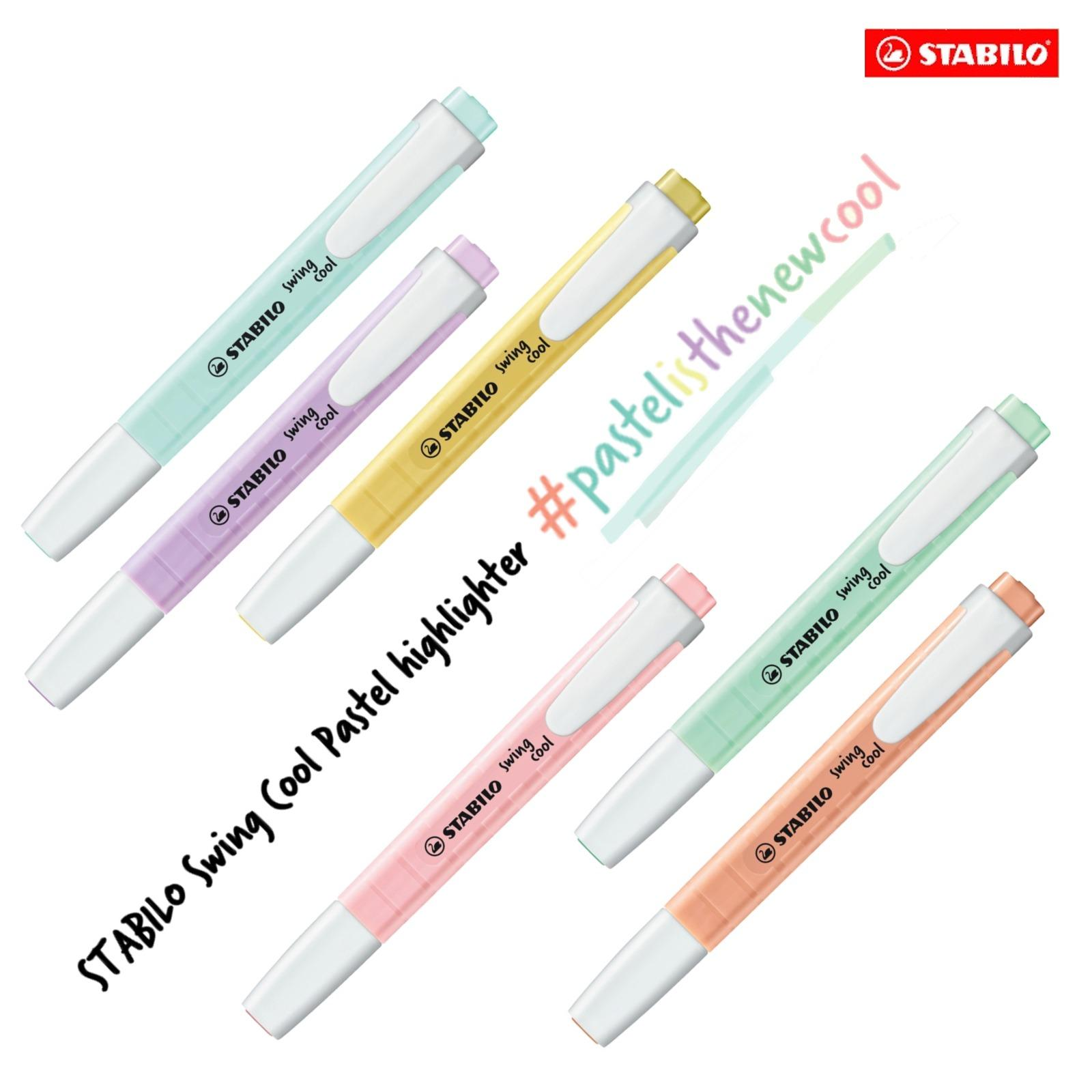 Stabilo Swing Cool Pastel Highlighter 6Pcs New Edition Coupon