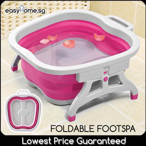 Price Mothers Day Gift Foldable Foot Spa Basin Footbath Reflexology Massage Multipurpose Tub Oem Original