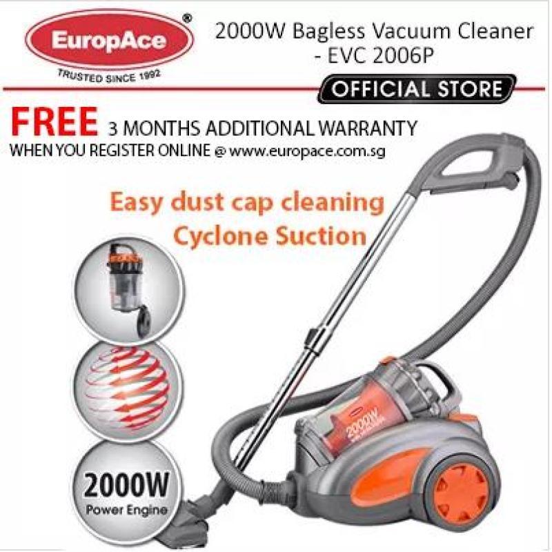 Europace EVC 2006P 2000W Multi- Cyclone Vacuum Cleaner - A2 Singapore