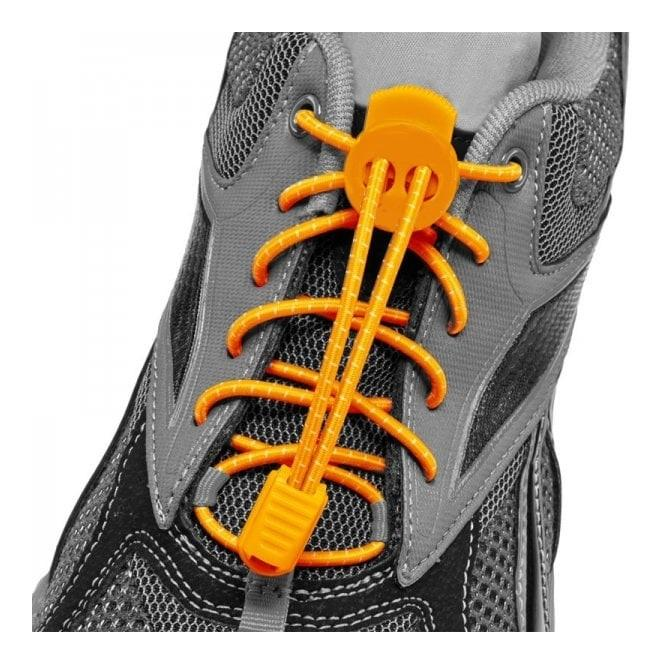 I-Run Elastic Running Shoe Laces (orange). By Aqua And Leisure Sports.