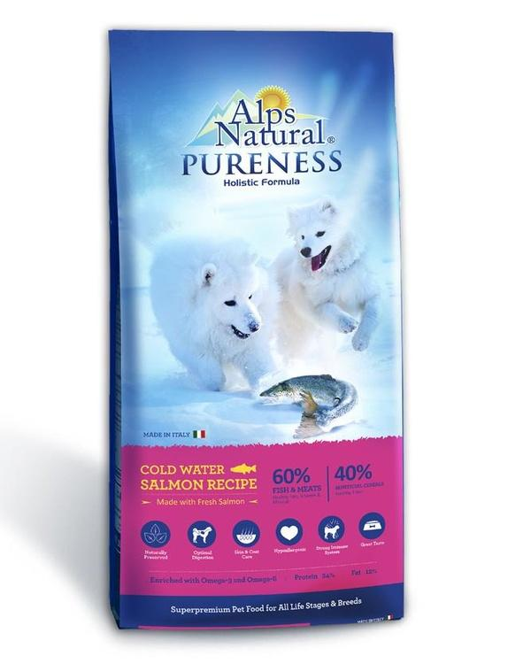 Alps Natural Pureness - Cold Water Salmon Recipe - 13kg By Perromart.