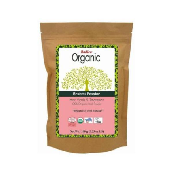 Buy Organic Brahmi Hair Powder - Radico ( Reduces Hair Loss and Dandruff) Singapore