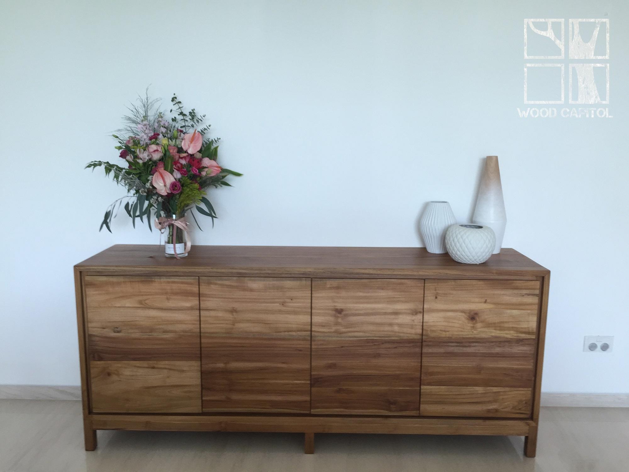 Wood Capitol Teak Wood Cabinet