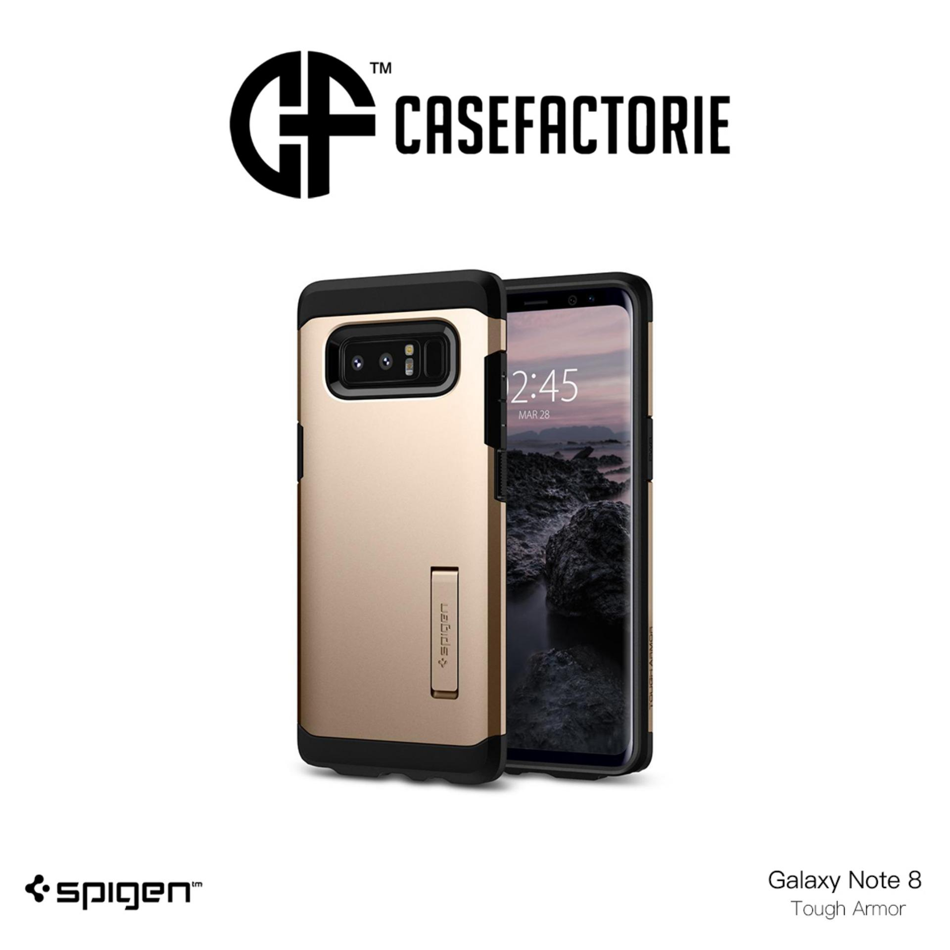 Price Spigen Tough Armor Case For Samsung Galaxy Note 8 On Singapore