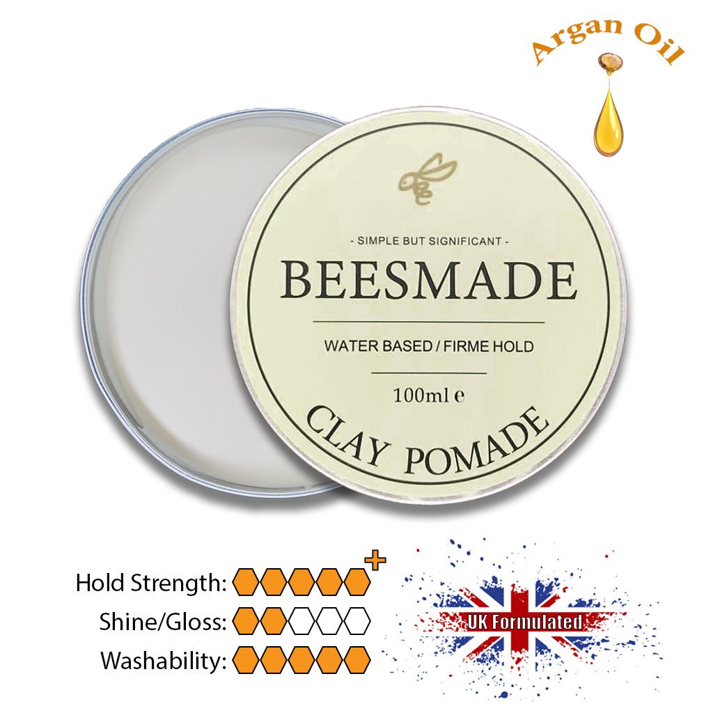 Beesmade Hair Clay Pomade 100ml By Beesmade.