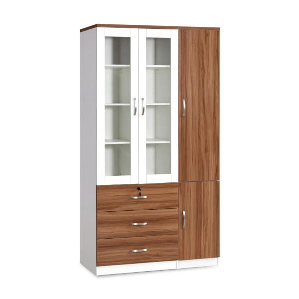 Ariel Book Cabinet (FREE DELIVERY)(FREE ASSEMBLY)
