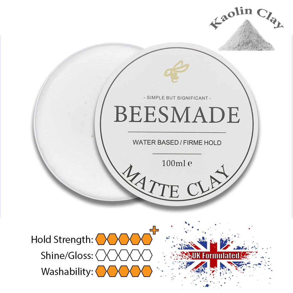 Beesmade Hair Matte Clay 100ml By Beesmade.