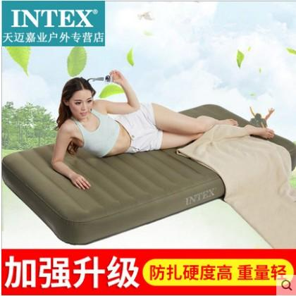 INTEX Inflatable Mattress Product Inflatable Bed Single Person Air throw pillow Bed Double Household wu xiu chuang Inflatable Mattress Outdoor
