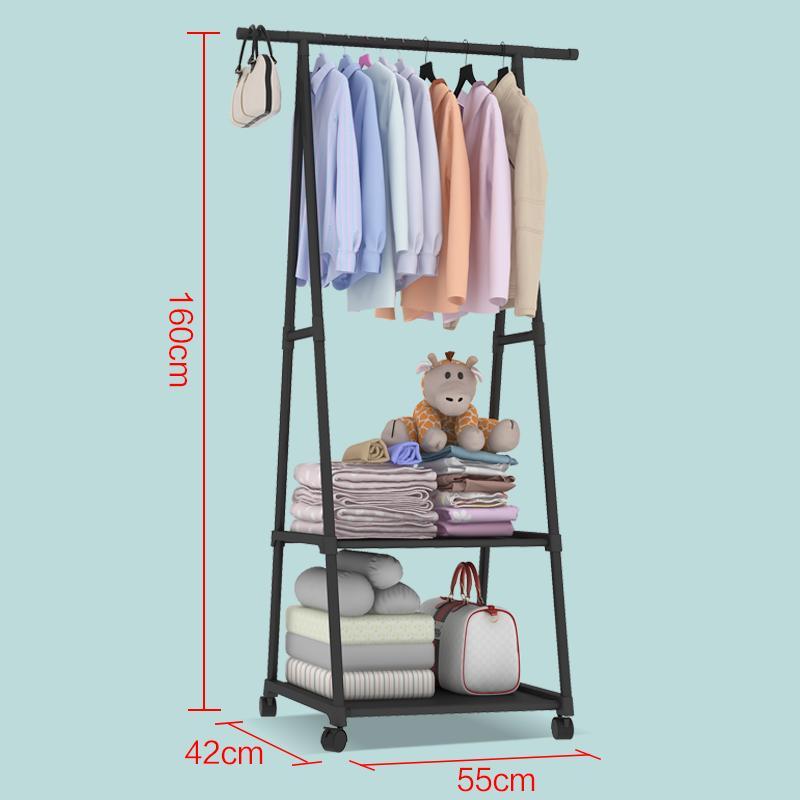 Home bedroom clothes gua bao jia hanger