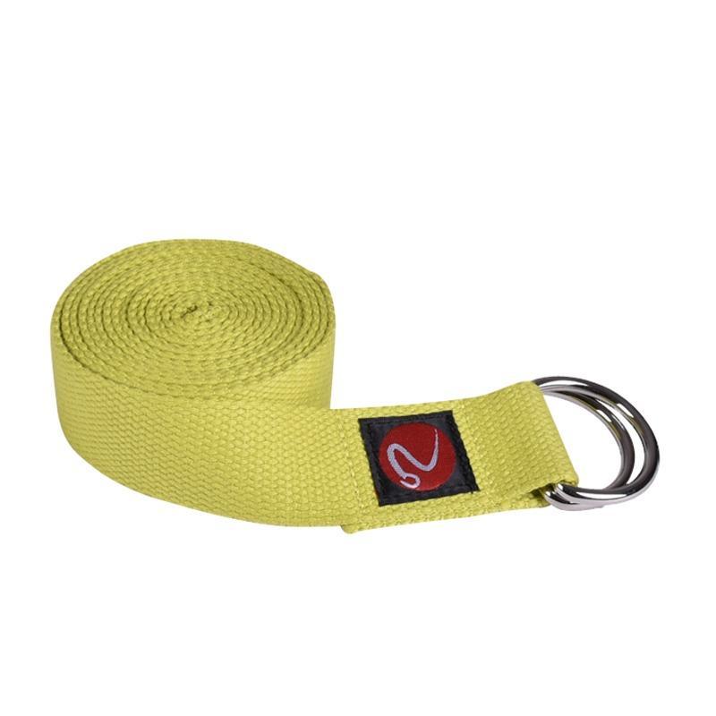 Where Can You Buy Fuzzy Flex Yoga Strap Lemon Green