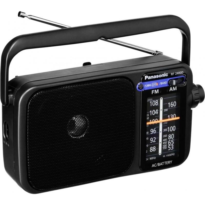 Panasonic Rf-2400d Portable Am/fm Radio By Home & Life Essentials.