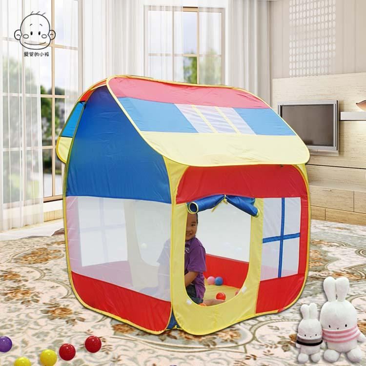 Kid's Tent Kids' Playhouse Indoor Game Tent Children Big Toy Room Kids Tent Large Toy House