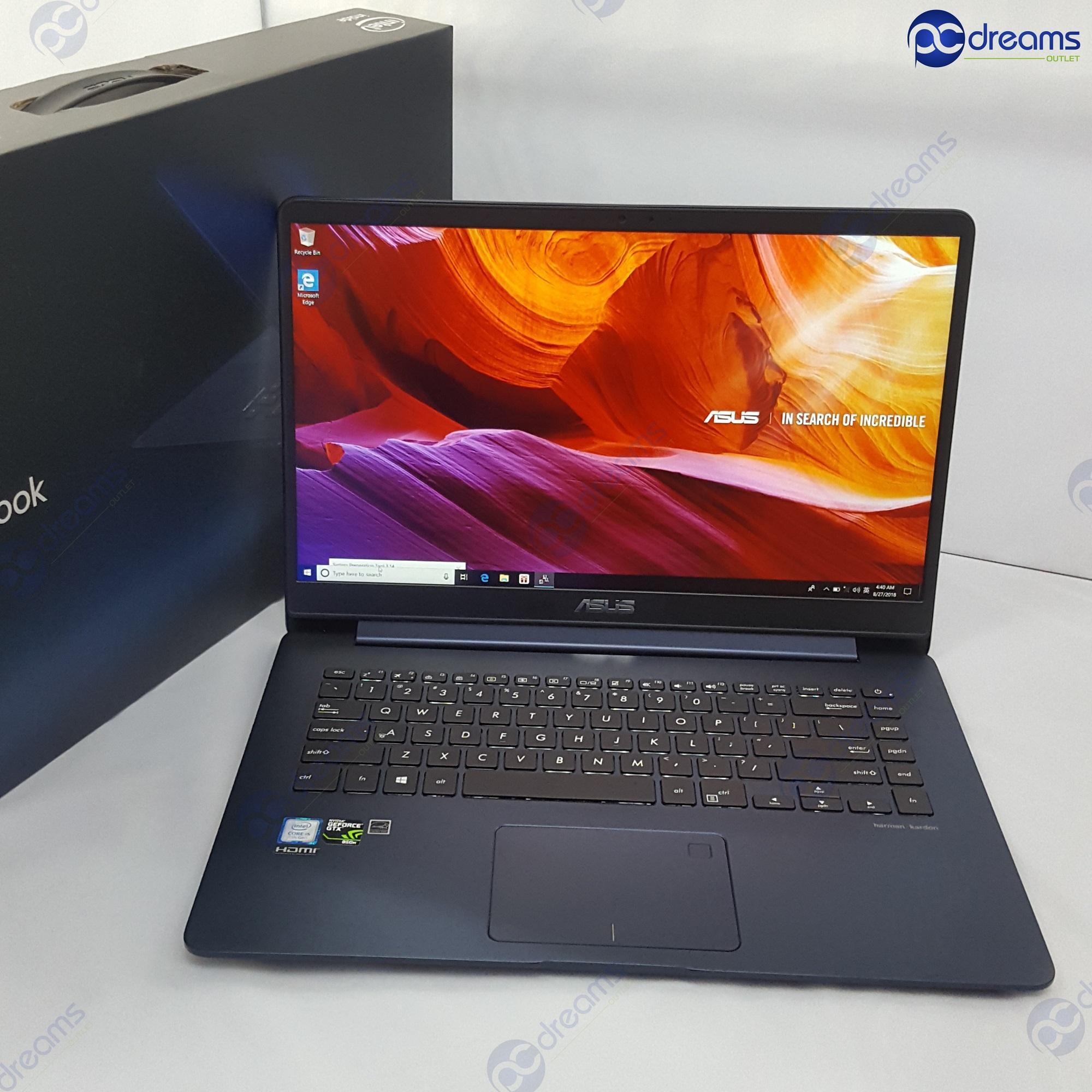 BEST LOBANG! ASUS ZENBOOK UX530UX-FY056T i5-7200U/8GB/512GB SSD [Premium Refreshed]