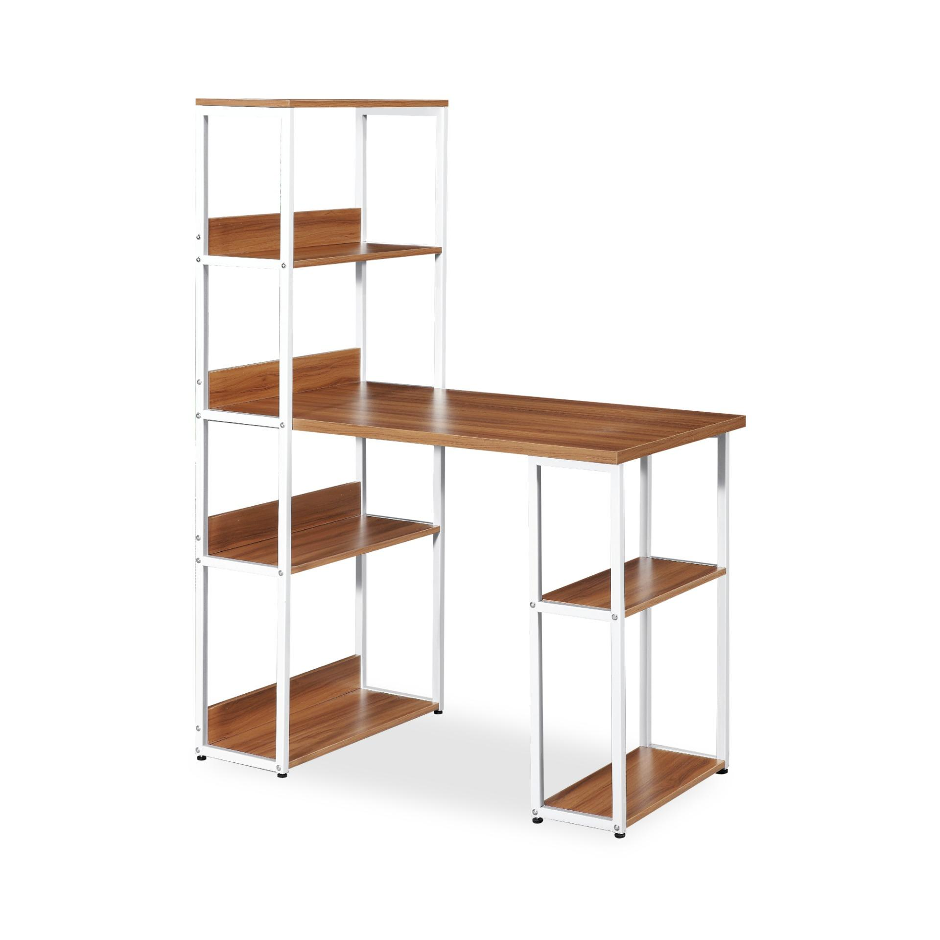 Amanda Writing Table with Shelves (FREE DELIVERY)(FREE ASSEMBLY)