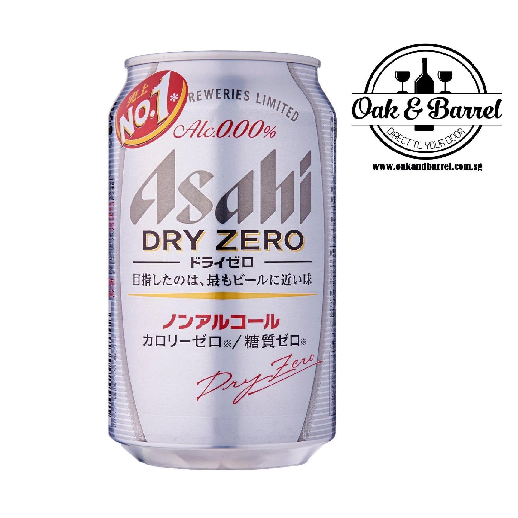 Asahi Dry Zero 24 Cans X 350 Ml Singapore