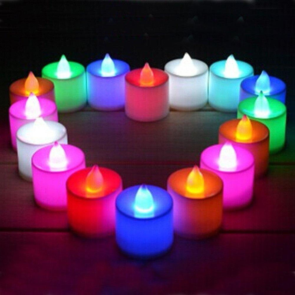 [Starzdeals] 24 Pieces LED Tea Light Candle Battery Operated