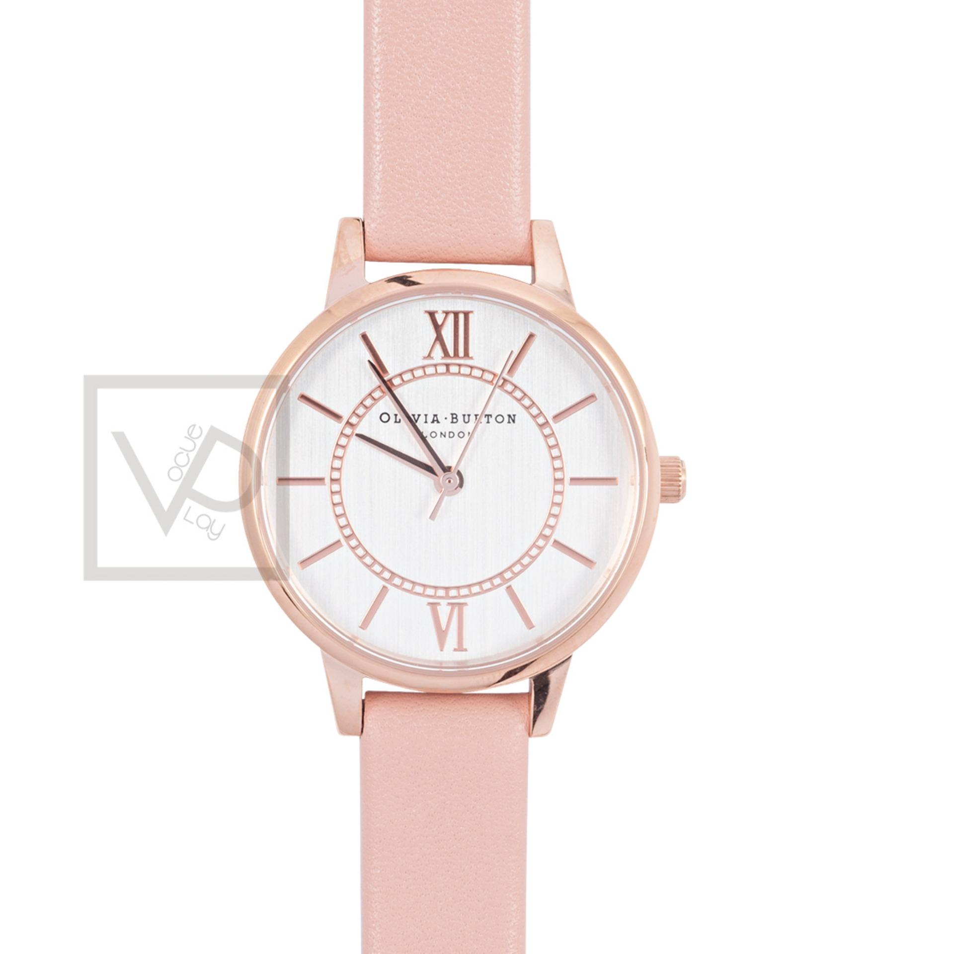 Best Olivia Burton Wonderland Dusty Pink Leather Watch Ob15Wd28