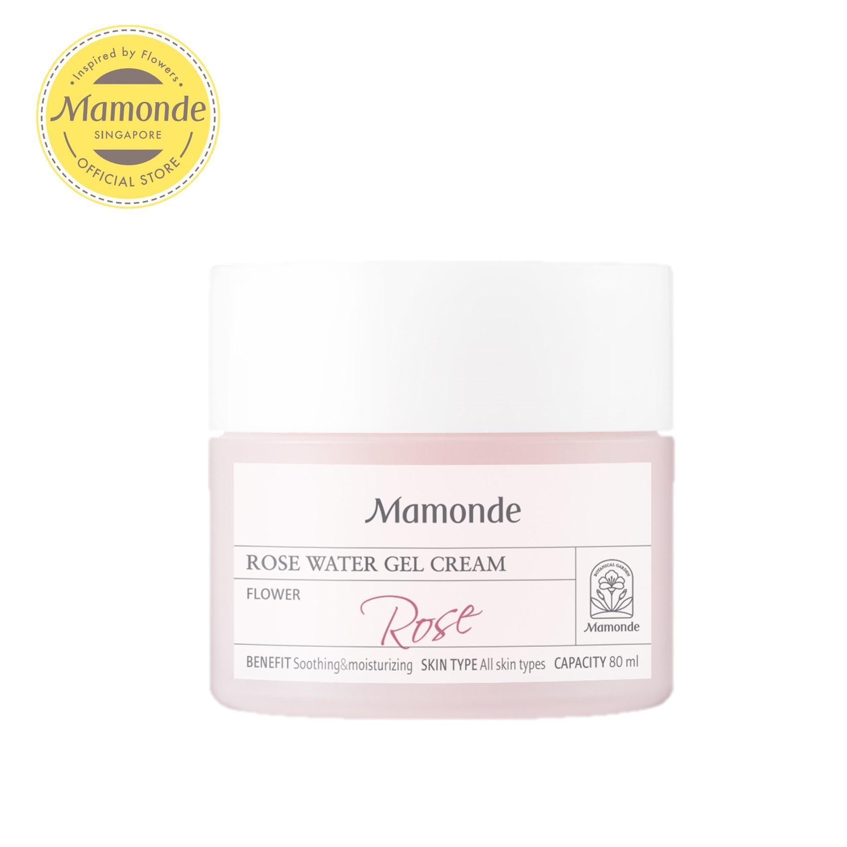 Mamonde Rose Water Gel Cream 80ml By Mamonde (capitaland Merchant).