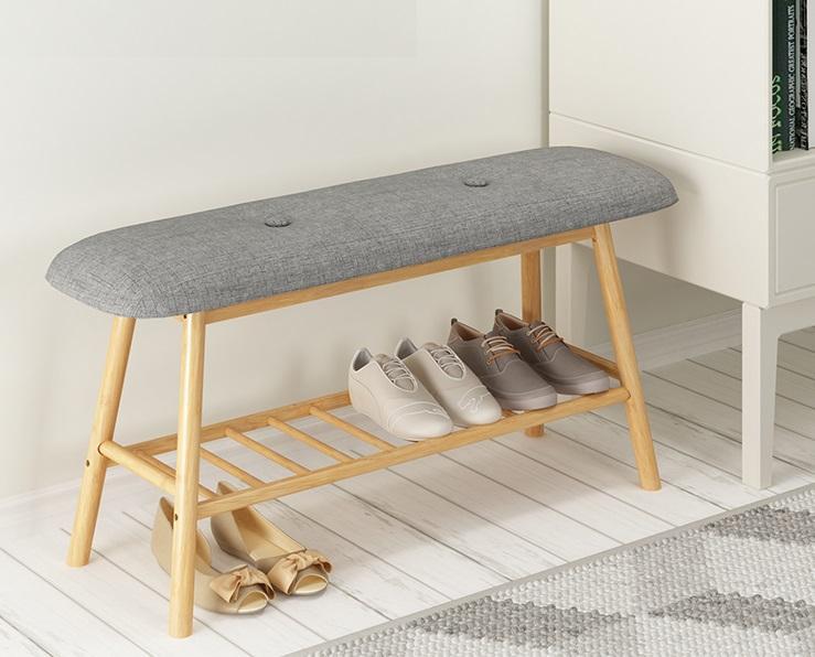 Nordic Storage Shoe Bench (90cm) By Diycottage4u.