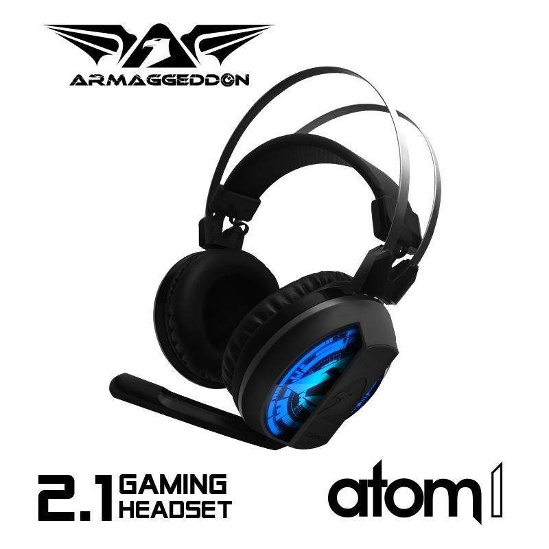 Buy Armaggeddon Atom 1 2 1 Stereo Gaming Headset Online Singapore