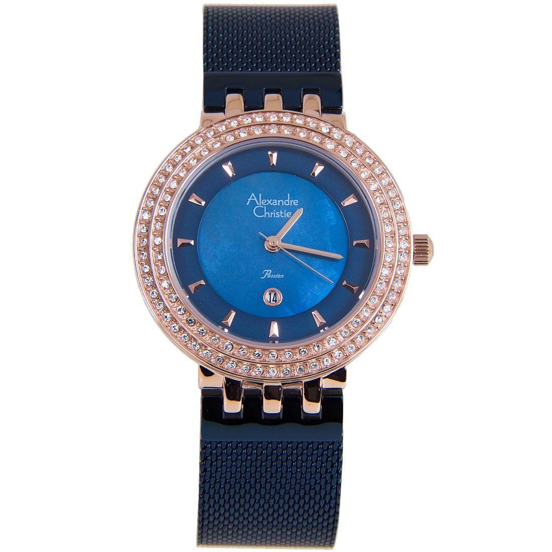 Latest Alexandre Christie Watches Products Enjoy Huge Discounts Ac 6410 Mc Steel Silver Black White Passion Women Business Watch 2651ldburbu