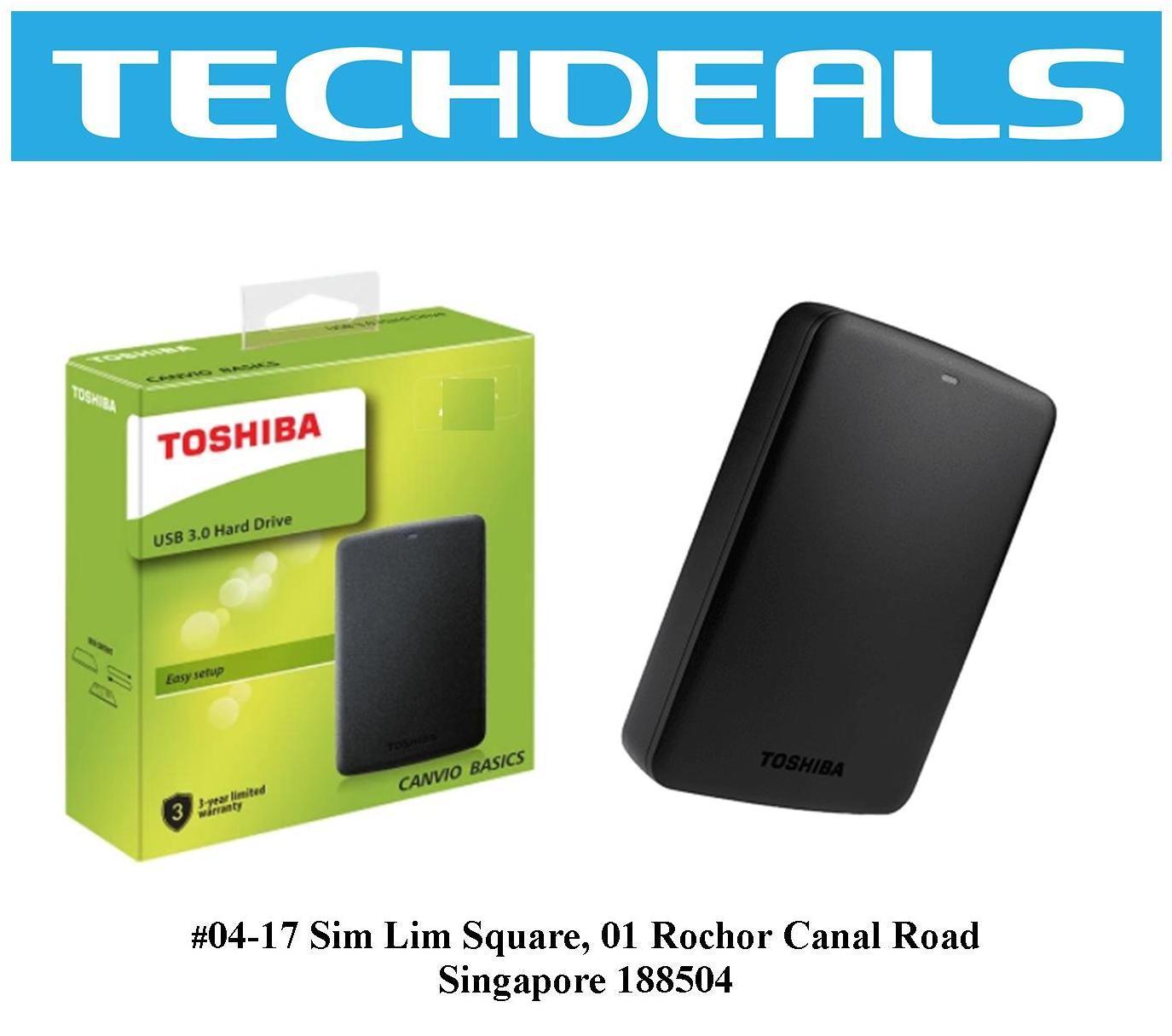 c5f05b999e98 Toshiba Canvio Basics 2TB USB3.0 External Hard Drive Singapore