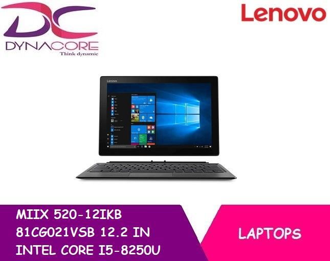 BRAND NEW LENOVO MIIX 520-12IKB 81CG021VSB 12.2 IN INTEL CORE I5-8250U 8GB 256GB SSD WIN 10
