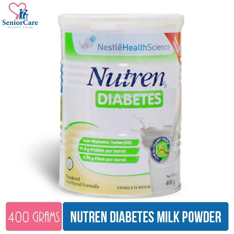 Nestle Nutren Diabetes Powder – 400g By Cantley Lifecare.