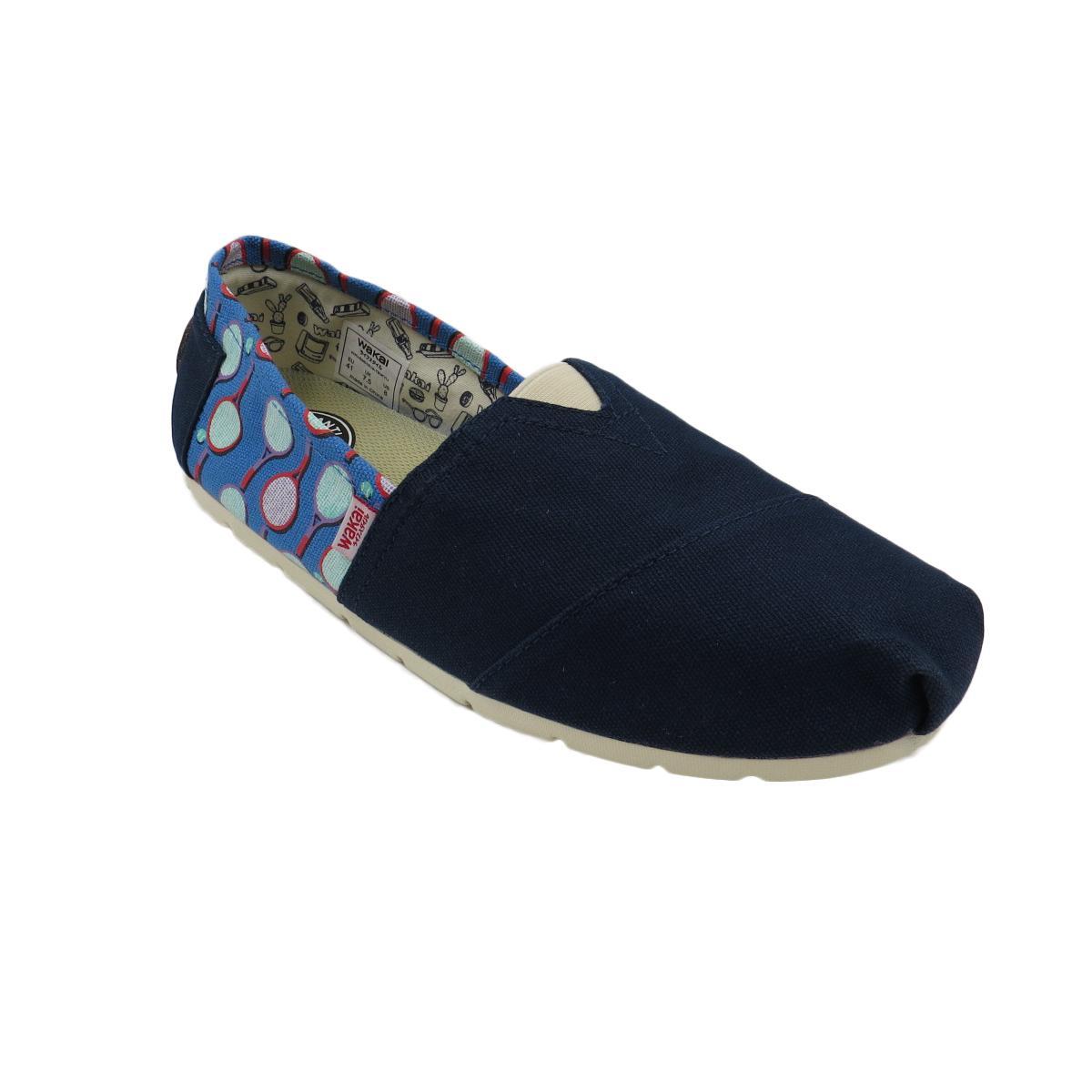 Wakai Teikyu Men S Slip On Shoes Navy Price