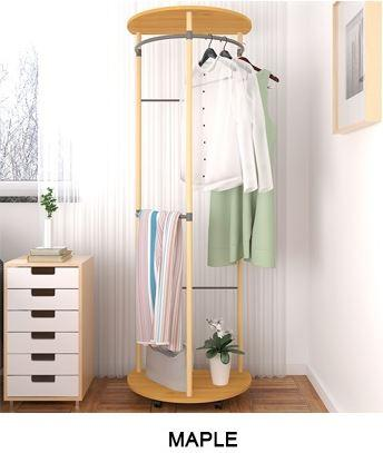 JIJI Premiere Home Clothes Rack LRCR - 08C (Free Installation) - Closet Organiser / Coat Racks / Hallway Entry Furniture (SG)