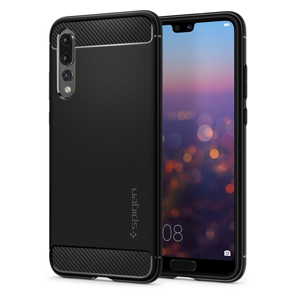 Sale Spigen Huawei P20 Pro Case Rugged Armor Spigen Branded