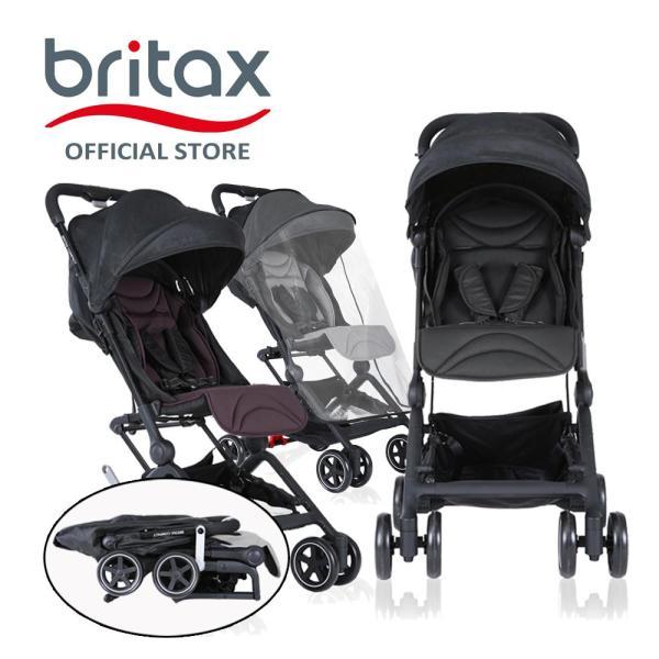 Britax Compact Lightweight Stroller / Cabin Stroller/ Pram + Bumper Bar Singapore