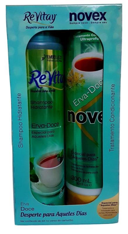 Buy ReVitay Novex Erva Doce Shampoo and Conditioner KIT Singapore