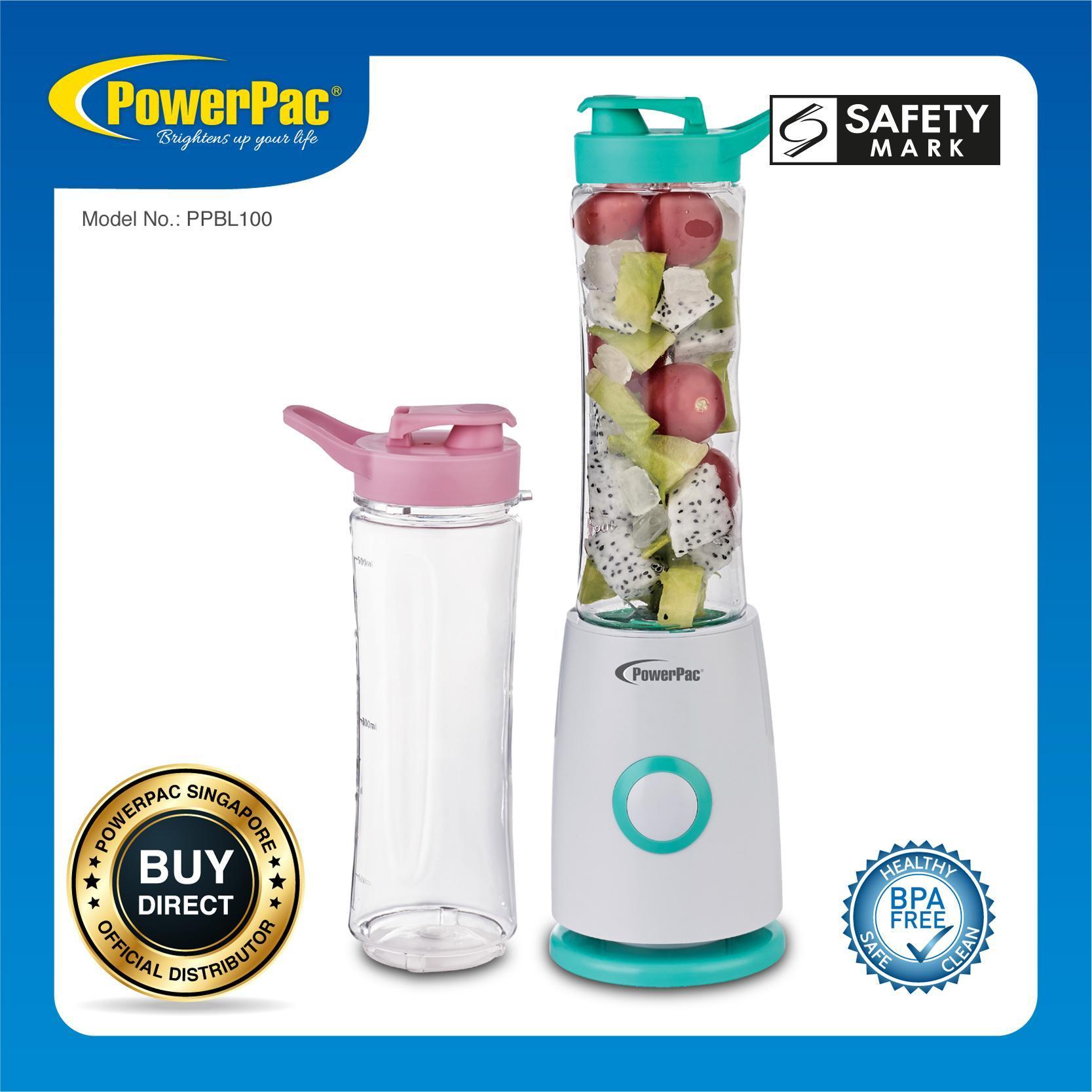 Powerpac Personal Juice Blender With 2x Bpa Free Jugs (ppbl100) By Powerpac.