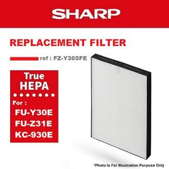 Sharp Hepa Filter For Air Purifier Model : Fz-Y30sfe By Sharp Singapore Electronics Corporation Pte. Ltd..