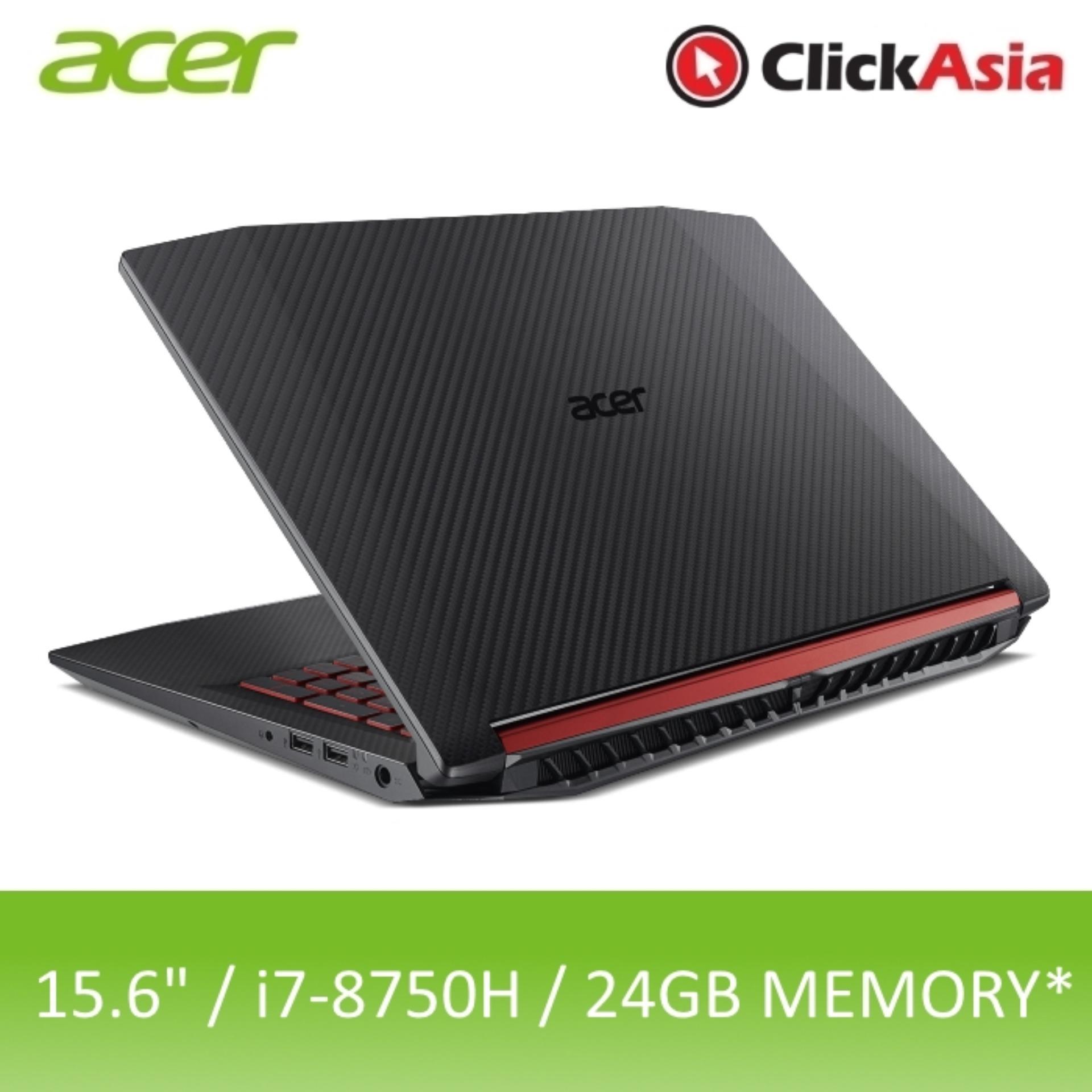 Acer Nitro 5 (AN515-52-70AP) - 15.6 FHD/i7-8750H/8GB DDR4/16GB Optane + 1TB HDD/Nvidia GTX1050/W10 (Black)