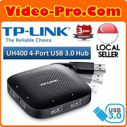 TP-Link UH400 USB 3.0 4-Port Portable Hub - 4x USB 3.0 Ports