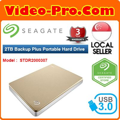 Seagate Backup Plus Slim 2TB Portable External Hard Drive USB 3.0