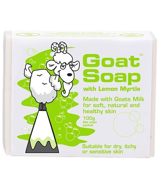 Goat Soap With Lemon Myrtle Value Pack (4 X 100g Soap Bars) By Australia Health Warehouse.