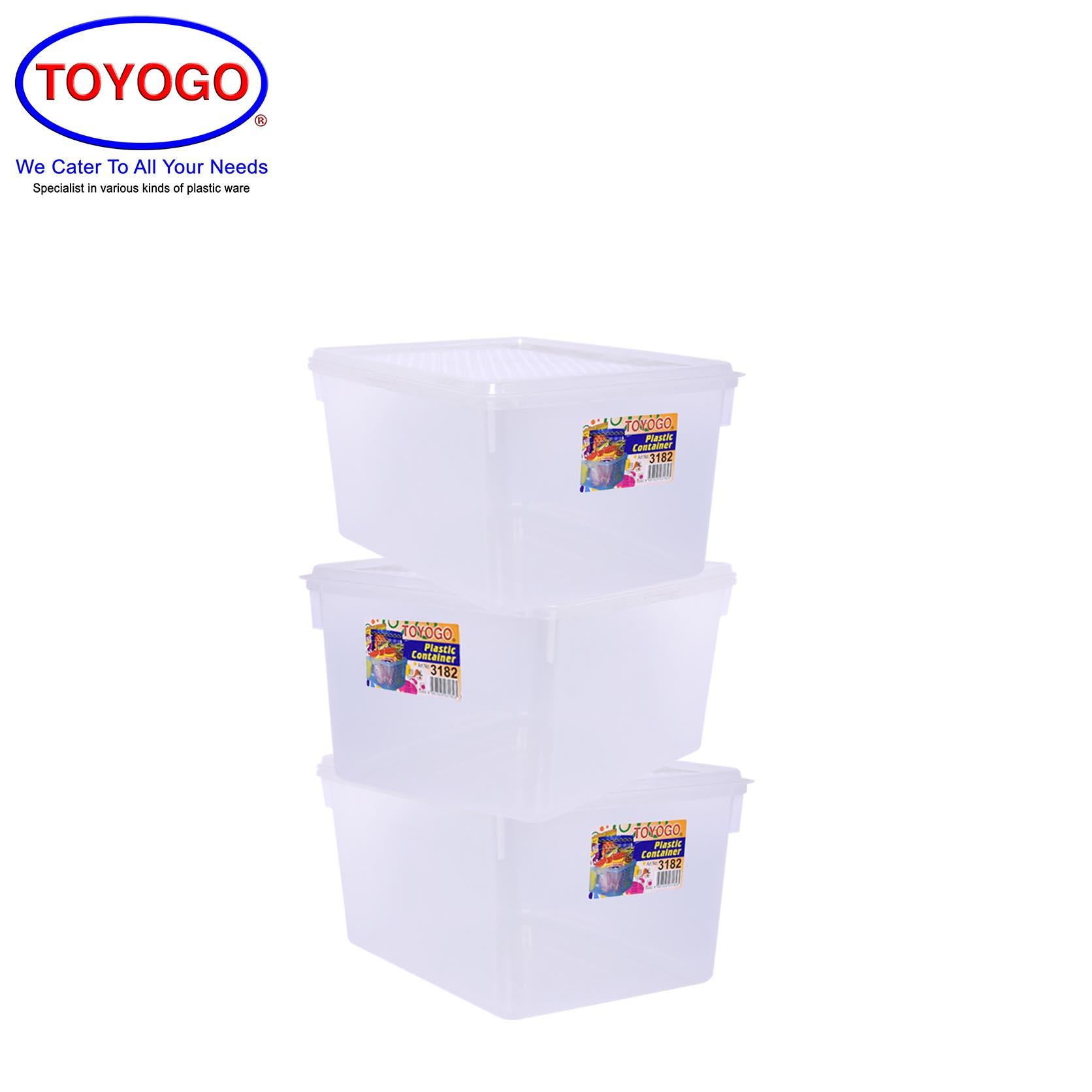 Toyogo 2.5L Diamond Container (Bundle of 3) (3182)