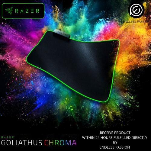 Review Razer Goliathus Chroma Soft Gaming Mouse Mat With Chroma Razer On Singapore