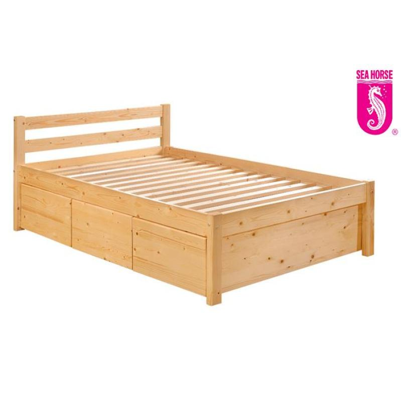 Sea Horse Wooden Bed