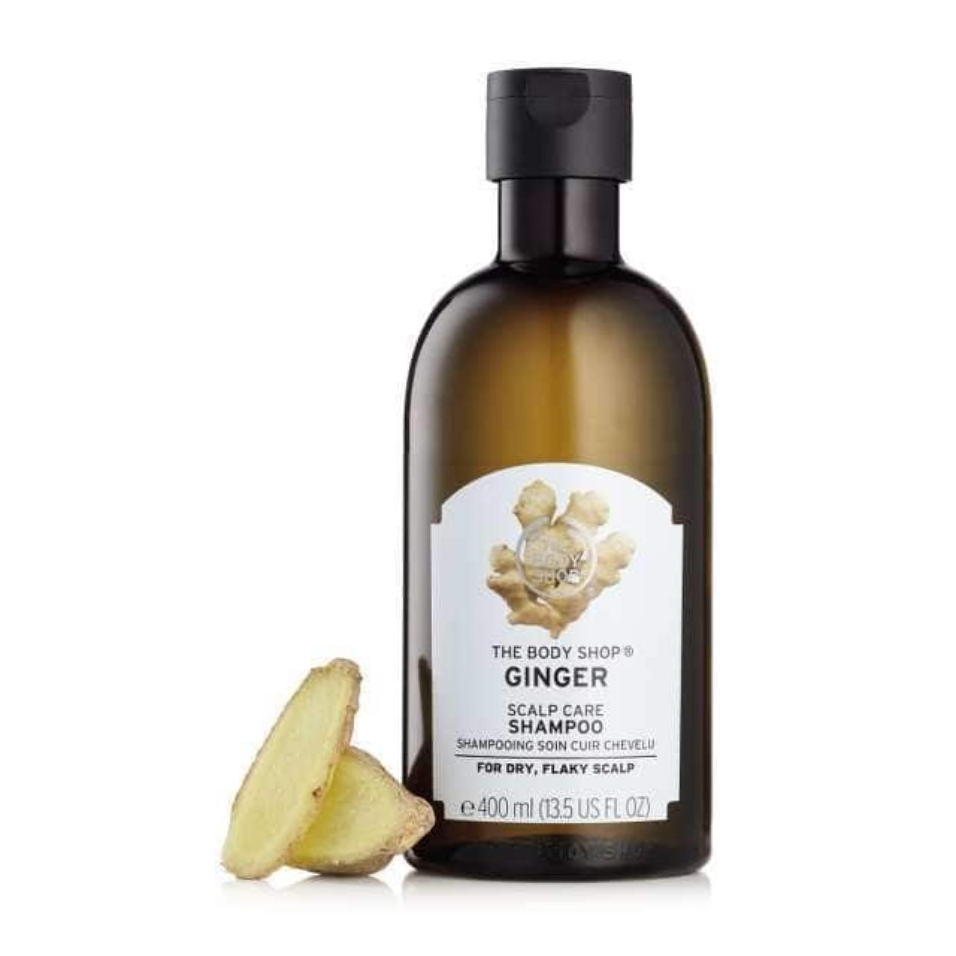 The Body Shop Ginger Anti-Dandruff Shampoo(400ml) By The Body Shop.