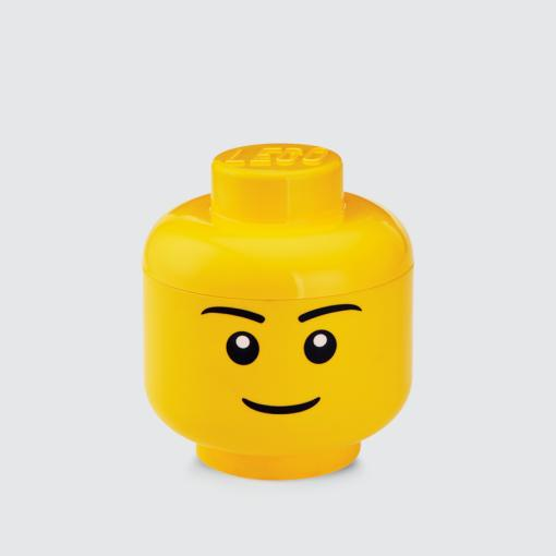 Sale Lego Iconic Storage Head S Boy Lego On Singapore
