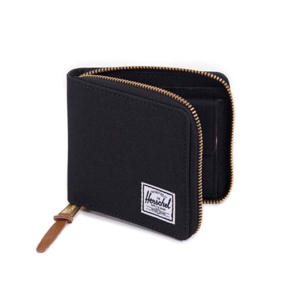 herschel wallet full zipped