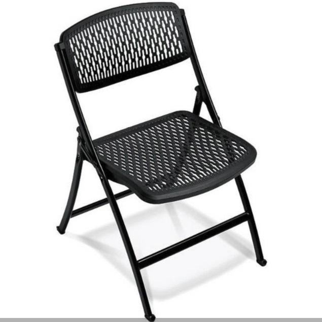 Morgan foldable plastic chair