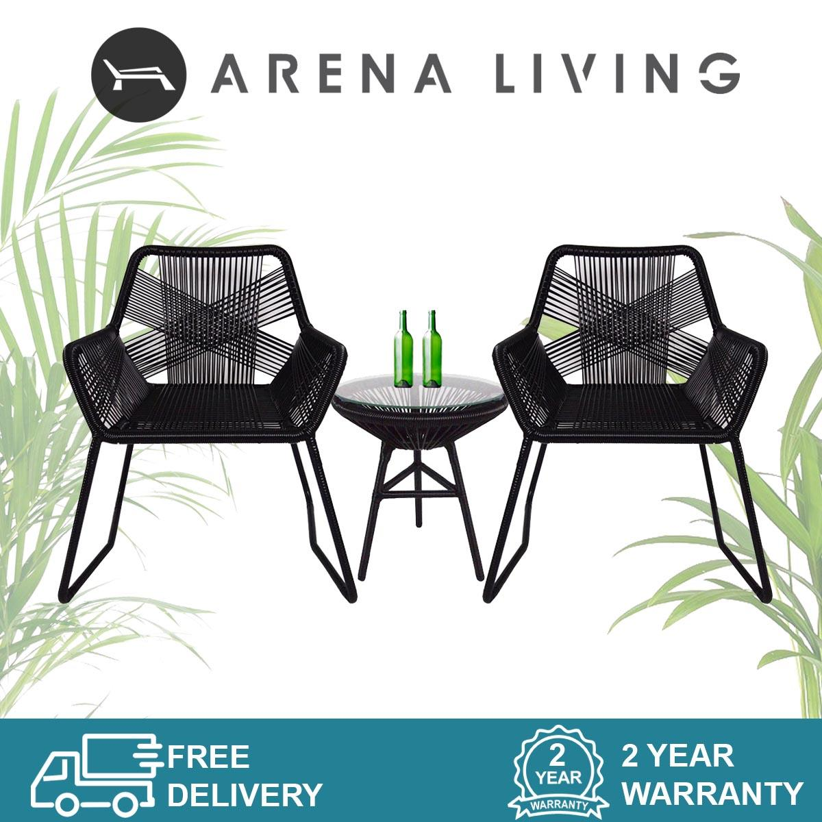 Bay Patio Set by Arena Living Outdoor Furniture (Fully Assembled)
