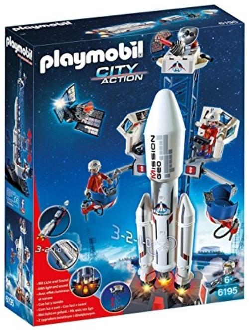 PLAYMOBIL 6195 Space Rocket with Launch Site