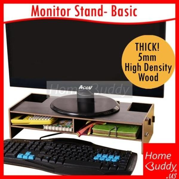 Monitor Stand  Laptop Stand  Printer Stand  Desktop Organizer  THICK 5mm High Density Wood  Design1 Basic  Design2 Basic Drawers  Design3 A4 Slot  Design4 Standard  Design5 Extended S  Design6 Extended L 65cm  READY Stocks SG HomeBuddy Acev Pacific